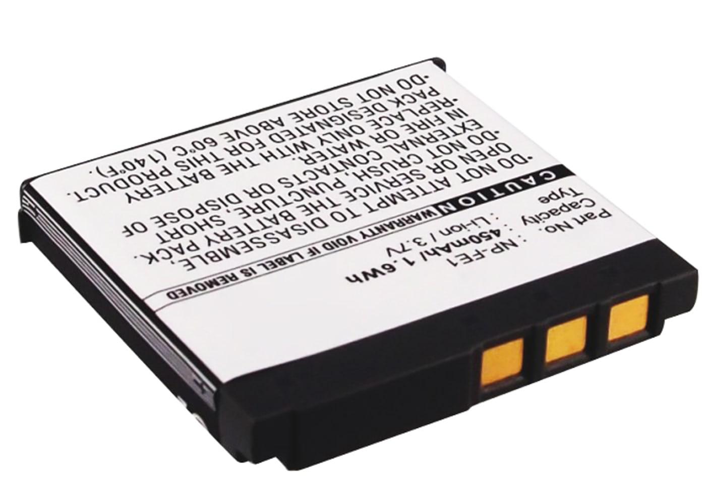 Kamera Akku für Sony Cyber-shot DSC-T7 - NP-FE1 Ersatzakku 450mAh NP-FE1, Batterie