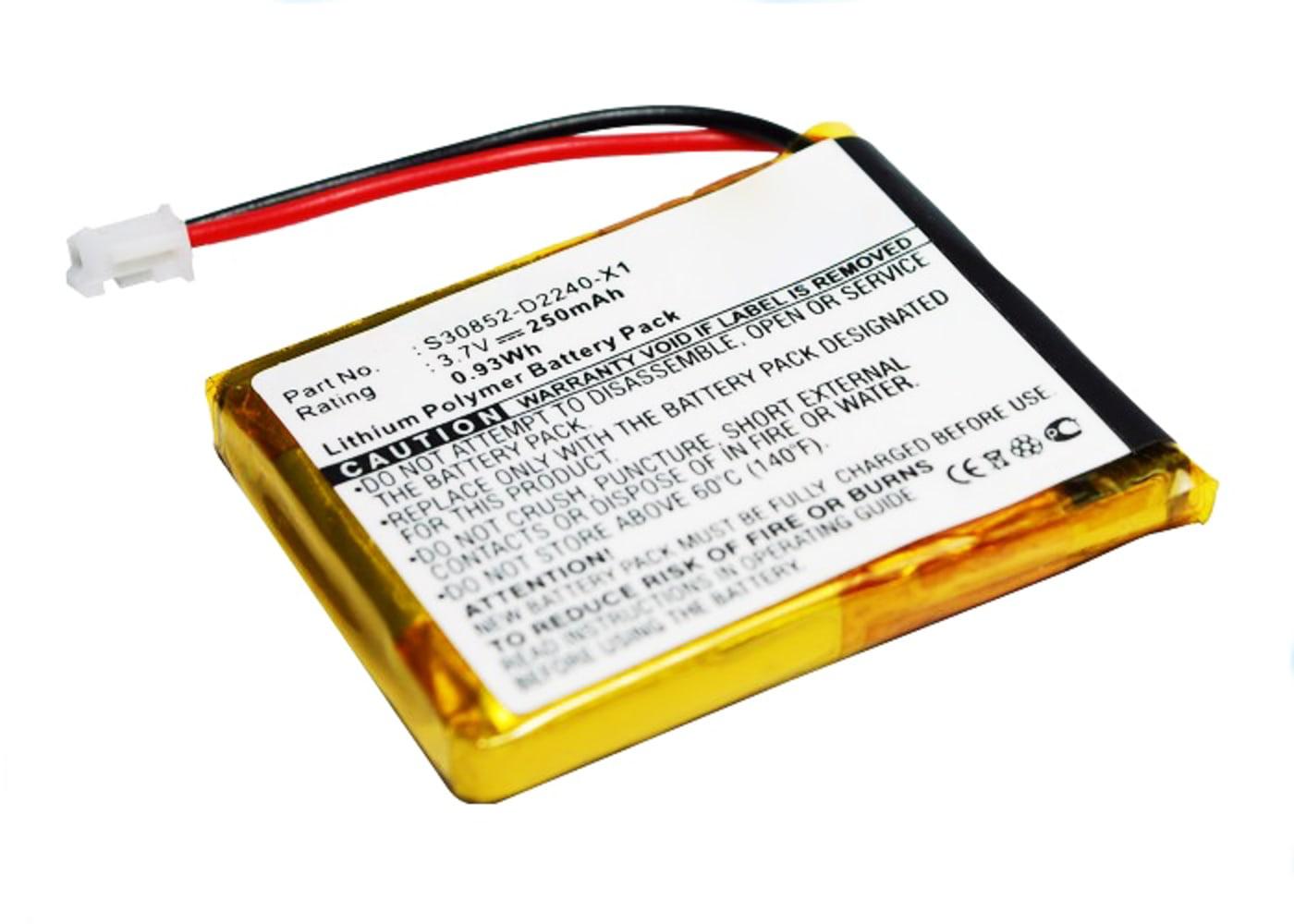 subtel® genopladelige battereri til Siemens Gigaset L410 - F39033-V328-C901,S30852-D2240-X1,V30145-K1310-X448 250mAh - udskift dit mobilbatteri