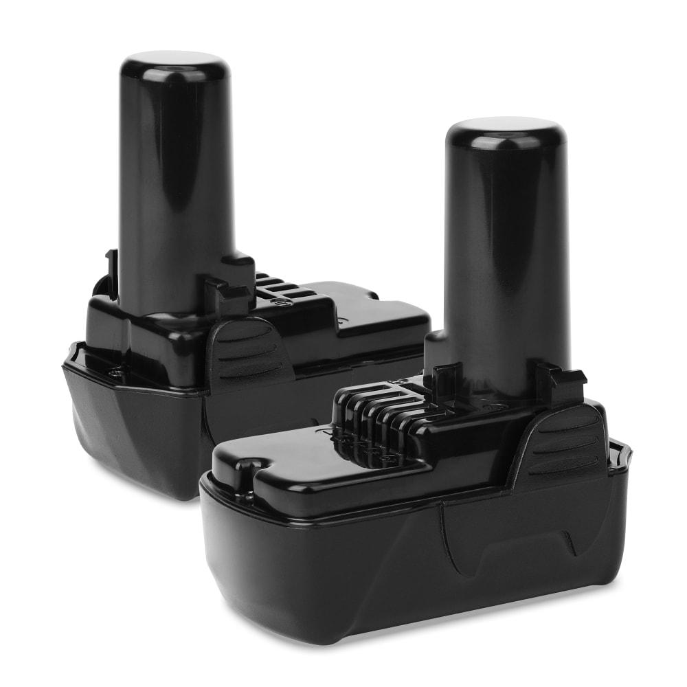 2x Batterie 10.8V, 1.5Ah, Li Ion pour Hitachi DS 10DFL, DS10DAL,WH10DFL,CR10DL, WH 10DL - BCL1015, L1015, 329369, 329370, 329371, 329389, 331065 batterie de rechange pour outils électroportatifs