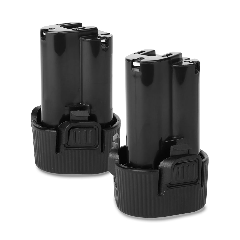 2x Batterie 10.8V, 1500mAh, Li Ion pour Makita DMR 108,DF330D, BMR102,DMR102,DMR05,MR051 - BL1013, 194550-6, BL1014, 194551-4, 194551-4 batterie de rechange pour outils électroportatifs