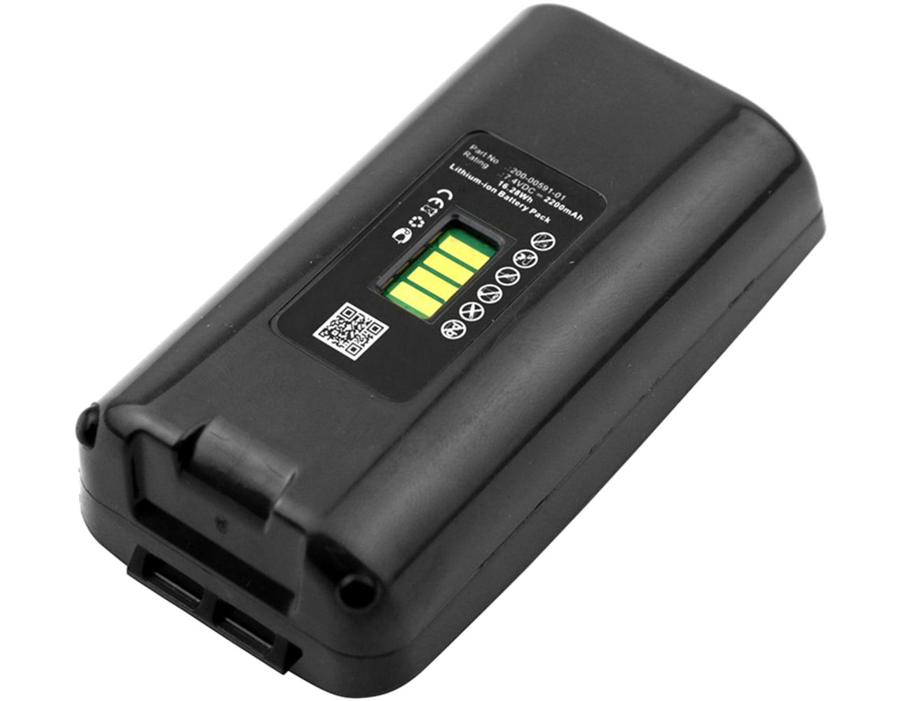 Akku für Honeywell Dolphin 7900, 9500, 9550, 9900 Handheld, LXE MX6 - 200-00591-01,200002586,20000591-01,20000702-02,20000702 (2200mAh) Ersatzakku