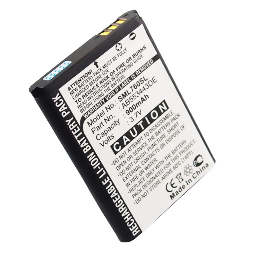 Batteria per Samsung SGH-L760 - (900mAh) , batteria di ricambio