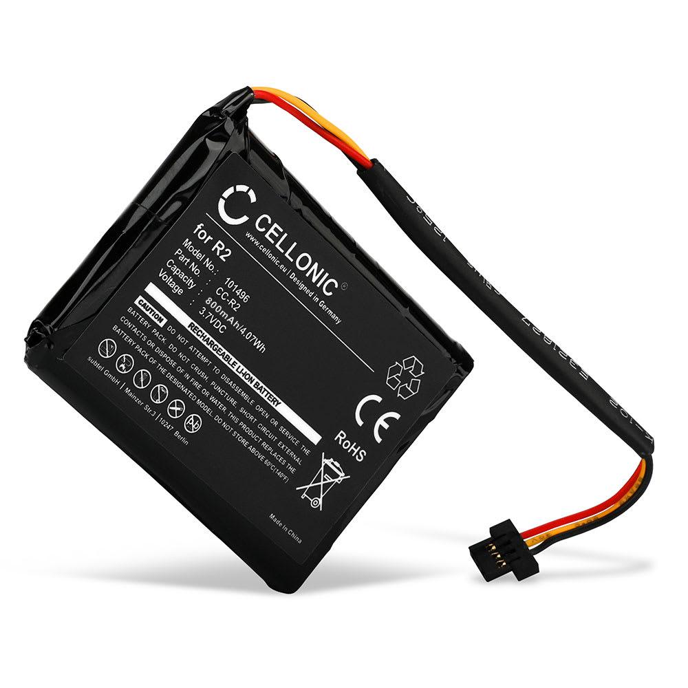 Batterie pour navigateur GPS TomTom Pro 4000, XXL 340 - 4EG0.001.08, 6027A0090721, FLB0920012619, FMB0829021142, R2 800mAh