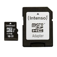 microSDHC Memory Card 16GB UHS-I Class 10  - Intenso