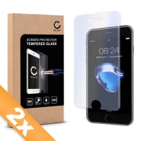 2x Displaybeschermglas voor iPhone 7 (A1660 / A1778 / A1779) (Transparant)