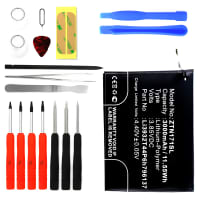 Battery for ZTE Nubia Z17 Mini incl. Tool-kit - Li3932T44P6h796137 (3000mAh) Replacement battery