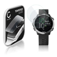 2x Screen protector glass Garmin Forerunner 645 (2.5D, 9H, 0,33mm, Full Glue) Tempered Glass