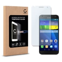 Cristal protector de la pantalla para Huawei Ascend G7 - Tempered Glass (Calidad HD / 2.5D / 0,33mm / 9H)