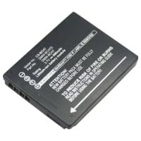 Batterie pour Panasonic Lumix DMC-FT10 / DMC-TS10 / DMC-FP3 / DMC-FP2 / DMC-FP1 - DMW-BCH7, DMW-BCH7E (690mAh) Batterie de remplacement