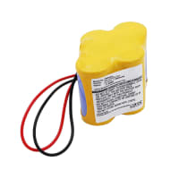 Batterie für Panasonic A98L-0031-0025, BR-2/3AGCT4A, Allen-Bradley SLC-500, MicroLogix 1400, MicroLogix 1500 (2900mAh) Ersatzakku