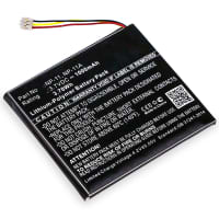 Batteri for Casio TR Mini Casio TR-M11 - LIS1639CSPC NP-11 NP-11A 1000mAh reservebatteri