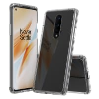 Back Cover for OnePlus 8 - Silicone, Crystal Clear Case