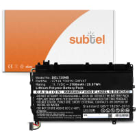 Battery for Dell Latitude 13 7000 (7350) P58G - (2700mAh) Replacement battery