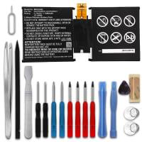 Batterie pour Microsoft Surface 3 10.8, MSK-1645 + Set de micro vissage - G3HTA003H, G3HTA004H (7200mAh) Batterie de remplacement