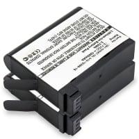 2x Batterij voor Garmin Virb Ultra Virb Ultra 30 - 010-12389-15,361-00087-00 1000mAh , vervangende accu