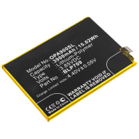 Battery for Oppo A9 - BLP709 (3900mAh) , Replacement battery