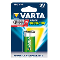 Pile batterie 9V / E Block Varta Power Accu Varta 56722 1x
