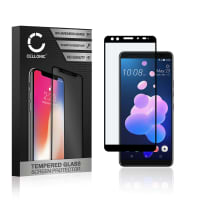 Screen protector glass HTC U12 Plus (3D Full Cover, 9H, 0,33mm, Full Glue) Tempered Glass