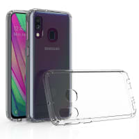 Backcover for Samsung Galaxy A40 (SM-A405) - Silicone, Crystal Clear Case