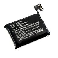 Batterij voor Apple Watch 3 (38mm) - A1848 (270mAh) vervangende accu