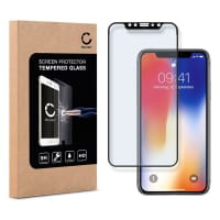 Displaybeschermglas voor Apple iPhone X - Tempered Glass (HD kwaliteit / 3D Full Cover / 0,33mm / 9H)