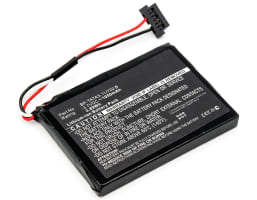 Battery for Mitac Mio Moov M410, RoadMate N393M-4300,RoadMate N393M-5000 - BP-TATA3-11/720 B (1050mAh) Replacement battery