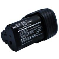 Batería 12V, 1500mAh, Li-Ion para Worx H3 WU127/WU181/WU280 Rockwell RK2510/RK2511/RK2512/RK2513 - WA3503, WA3505, WA3509 Batería Reemplazo