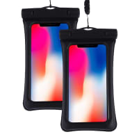 2x Waterproof bag for Smartphone, GPS, MP3-Player (3
