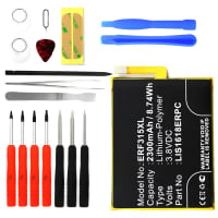 Battery for Sony Xperia E5 incl. Tool-kit - LIS1618ERPC (2300mAh) Replacement battery