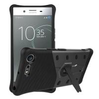 Tapa trasera para Sony Xperia XZ Premium - TPU, negro Funda