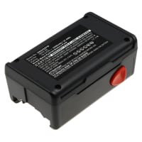 Battery 18V, 1500mAh, NiMH for Gardena EasyCut 42 Accu, Turbotrimmer SmallCut 300 Accu, 648844, 648872 - 8834-20 replacement battery