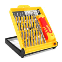 32-in-1 Precisie Schroevendraaier Set TORX® Telefoon Reparatie Tool Pincet Set voor iPhone, Tablet PC's, Laptops, iPad