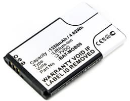 Battery for Honeywell Captuvo 70e, Captuvo 75e, Captuvo SL22 Sled, Captuvo SL42 Sled, Captuvo SL62 Sled - 26111710,3159122,55-003233-01 (1250mAh) Replacement battery