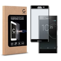Cristal protector de la pantalla para Sony Xperia XZ Premium - Tempered Glass (Calidad HD / 3D Full Cover / 0,33mm / 9H)