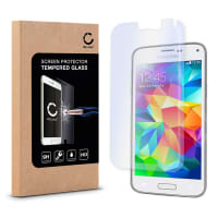 Displaybeschermglas voor Samsung Galaxy S5 / S5 Neo / S5 Duos (SM-G900 / SM-G901 / SM-G903) - Tempered Glass (HD kwaliteit / 2.5D / 0,33mm / 9H)