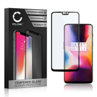 Screen protector glass OnePlus 6 (3D Full Cover, 9H, 0,33mm, Full Glue) Tempered Glass