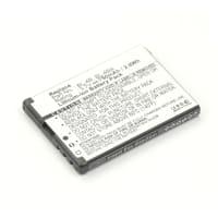 Batterie pour Nokia 2630 / 2760 / 5000 / 6111 / 6131 / 7360 / 7370 / 7373 / N76 (750mAh) BL-4B