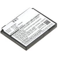 Battery for Becker HJS 100 / Map Pilot - 338937010208 (900mAh) Spare Battery Replacement