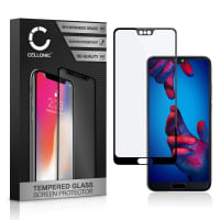 Screen protector glass Huawei P20 (3D Full Cover, 9H, 0,33mm, Full Glue) Tempered Glass