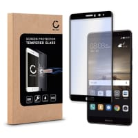 Panzerglas für Huawei Mate 9 - Tempered Glass (HD-Qualität / 3D Full Cover / 0,33mm / 9H)