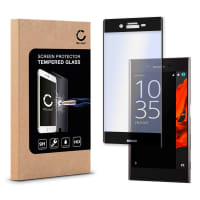 Panzerglas für Sony Xperia XZ - Tempered Glass (HD-Qualität / 3D Full Cover / 0,33mm / 9H)