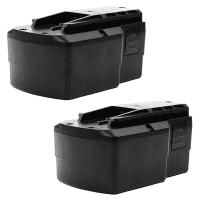 2x Battery 15.6V, 3Ah, NiMH for FESTOOL TDK 15.6 - BPS 15.6 replacement battery
