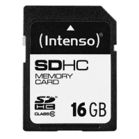 SDHC Minnekort 16GB Klasse 10 - Intenso