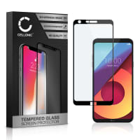 Displaybeschermglas LG Q6 (3D Full Cover, 9H, 0,33mm, Full Glue) Tempered Glass