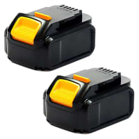 2x Battery 14.4V, 3Ah, Li-Ion for Dewalt DCD720 DCD730 DCD735 DCD931 DCD936 DCL030 - DCB140, DCB141, DCB142 replacement battery