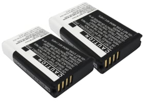 2x Battery for Garmin VIRB, Garmin VIRB Elite, Garmin VIRB Elite 1.4 - 010-11599-00,010-11654-03 (2200mAh) Replacement battery