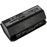 Batterij voor Asus G750J / G750JH / G750JM / G750JS / G750JW / G750JX / G750JZ - A42-G750 (4800mAh) vervangende accu