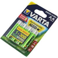 Akkus Batterien AA Varta  5716 4x