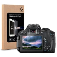Screen protection glass for Canon EOS 70D / EOS 700D / EOS 750D (Crystal clear)