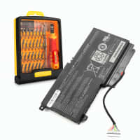Battery for Toshiba Satellite L50-A / L55T / P50-A / P50T-A / P55 / P55T / S50-A / S50T-A / S55T - PA5107U-1BRS (2830mAh) + Tool-kit, Replacement battery